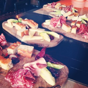 A selection of deli boards to ease us in.