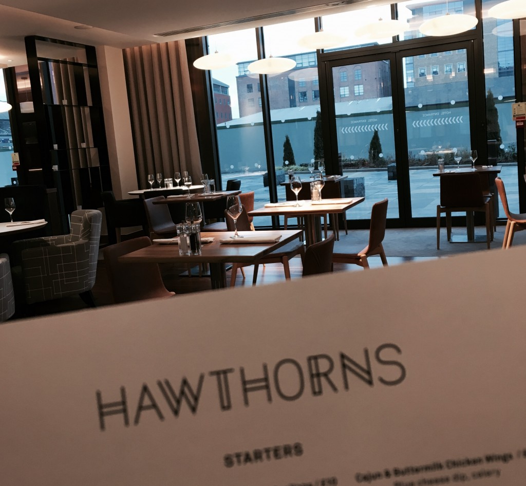 Lunch at Hawthorns Restaurant – The Crowne Plaza Newcastle