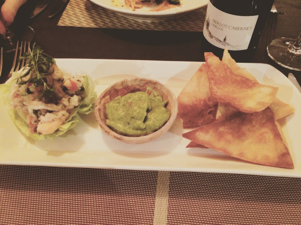 Seafood Ceviche Starter at The Earl of Pitt Street - Scran on the Tyne