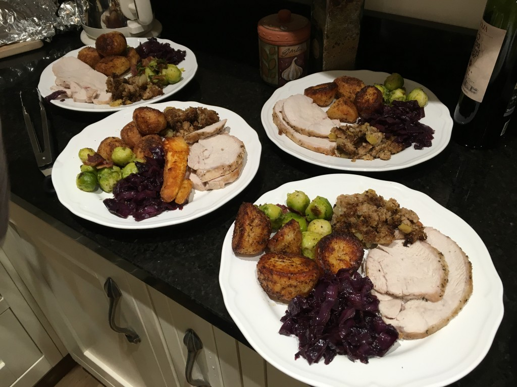 Full Christmas dinner using Great British Meat Co produce - Scran on the Tyne
