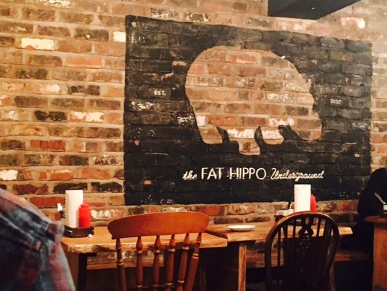 Truly bangin' burgers at Fat Hippo Underground