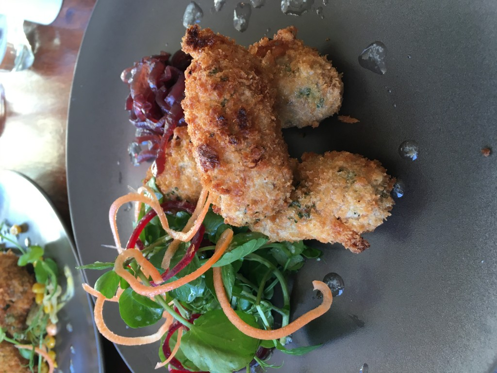 Image shows pheasant croquettes at Bistro Forty6