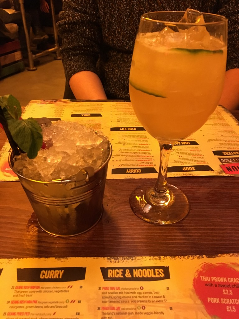 Cocktails at Thaikhun Metro Centre