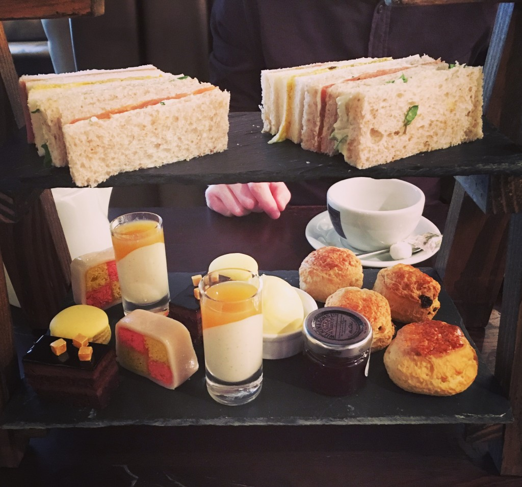 Image shows Afternoon Tea at The Angel Inn