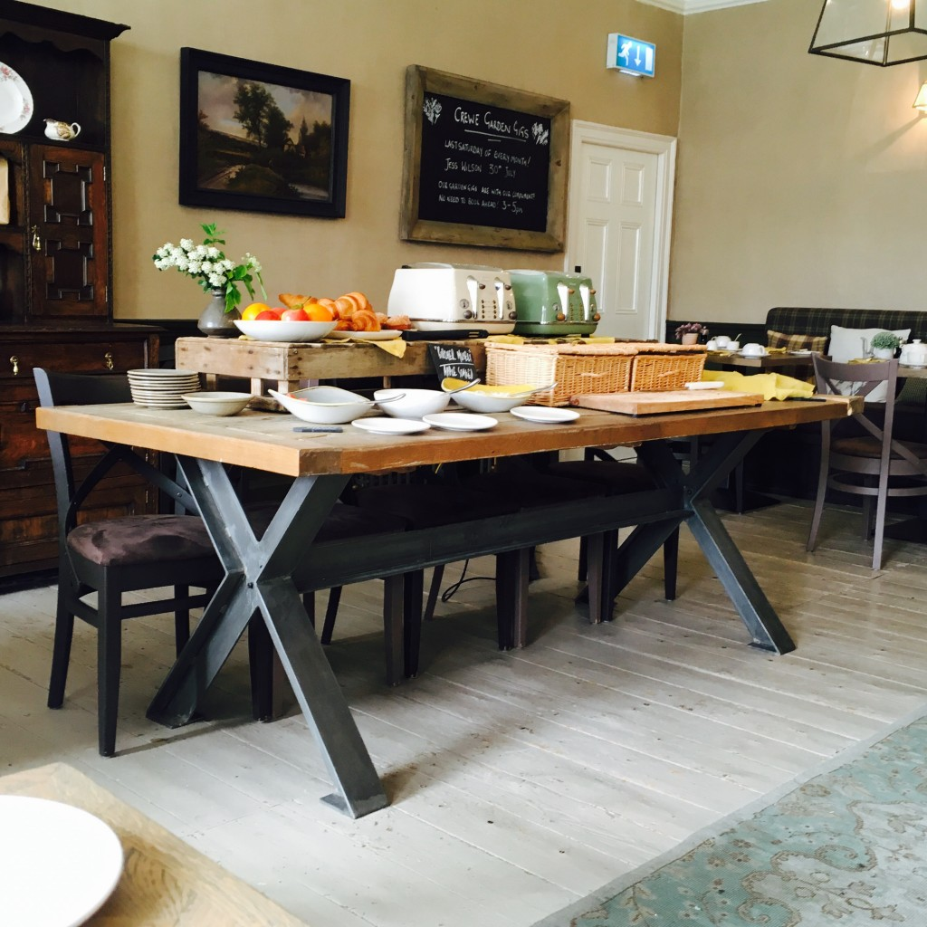 Breakfast Bar at The Lord Crewe Arms