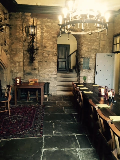 Banqueting hall at The Lord Crewe Arms