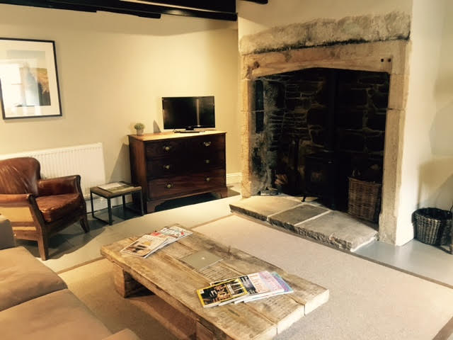 Another view of the living room in Whiteheaps at The Lord Crewe Arms