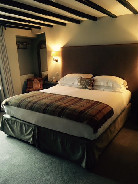 Bedroom at The Lord Crewe Arms in Whiteheaps cottage