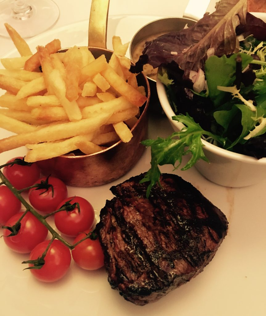 Fillet steak at Marco Pierre White Newcastle - Scran on the Tyne review