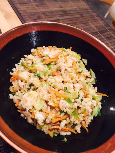 Vegetable stirfried rice from La Yuan Newcastle