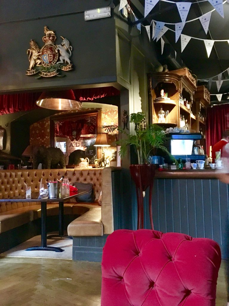 Interiors at Colonel Porter's Newcastle