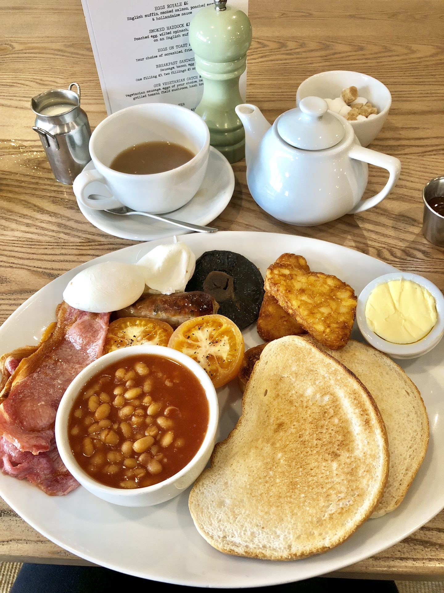 Breakfast at Catch Ponteland | Photo by Scran on the Tyne