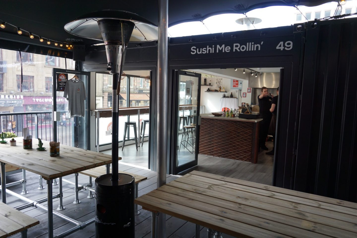 sushi me rollin at Stack Newcastle