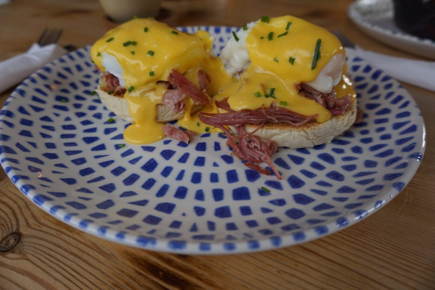 Eggs Benedict at Aidan's Kitchen