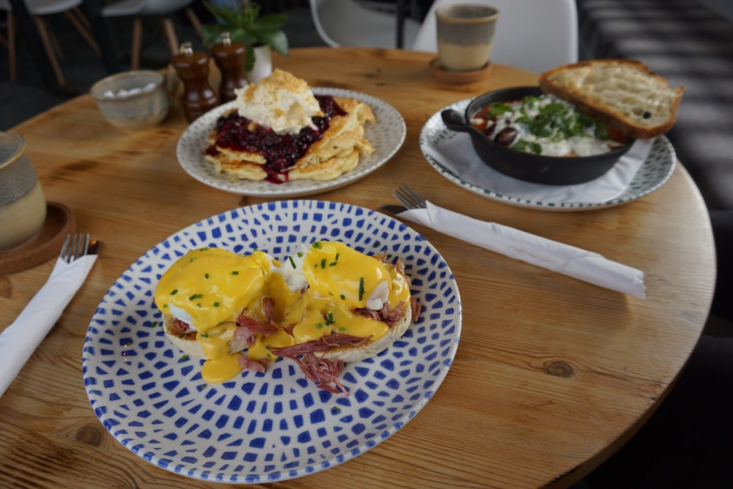 A trio of brunch delights from Aidan's Kitchen